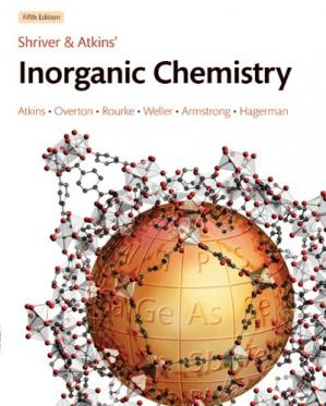 Book cover Shriver and Atkins' Inorganic Chemistry, 5th Edition