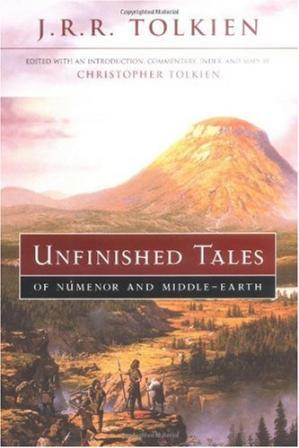 غلاف الكتاب Unfinished Tales of Numenor and Middle-Earth