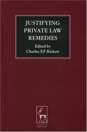 Обкладинка книги Justifying Private Law Remedies