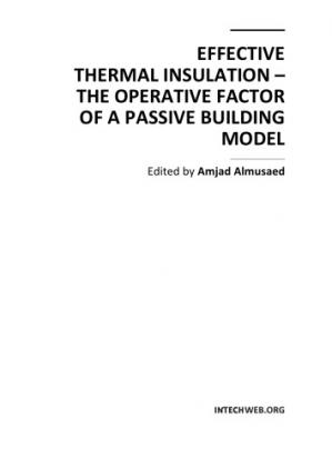 Okładka książki Effective thermal insulation : the operative factor of a passive building model