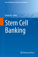 Book cover Stem Cell Banking
