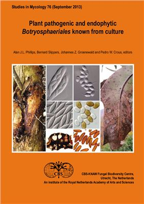غلاف الكتاب Plant pathogenic and endophytic Botryosphaeriales known from culture