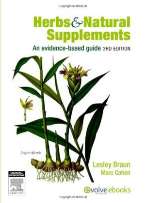 ปกหนังสือ Herbs and Natural Supplements: An Evidence-Based Guide
