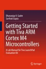 A capa do livro Getting Started with Tiva ARM Cortex M4 Microcontrollers: A Lab Manual for Tiva LaunchPad Evaluation Kit