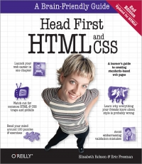 Copertina Head First HTML and CSS, 2nd Edition