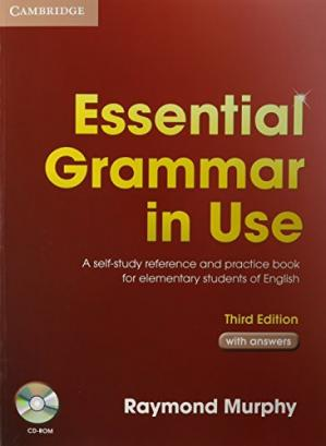 Book cover Essential Grammar in Use with Answers CD-ROM - 3rd Edition