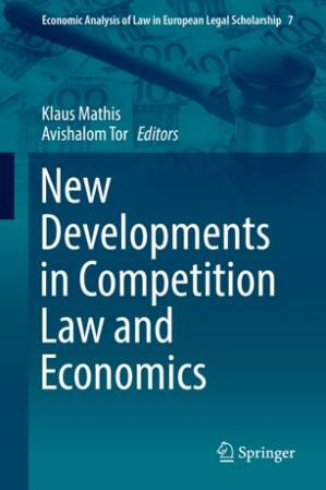 Book cover New Developments in Competition Law and Economics