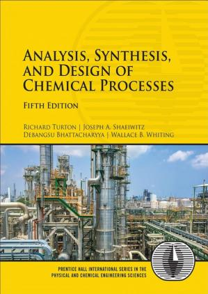 Book cover Analysis Synthesis and Design of Chemical Processes