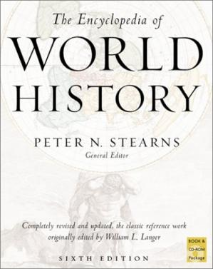 Book cover The Encyclopedia of world history: ancient, medieval, and modern, chronologically arranged