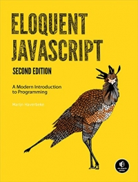 Book cover Eloquent JavaScript, 2nd Edition: A Modern Introduction to Programming