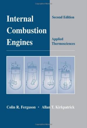 Book cover Internal Combustion Engines (Applied Thermosciences)