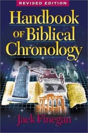 Couverture du livre Handbook of Biblical Chronology: Principles of Time Reckoning in the Ancient World and Problems of Chronology in the Bible