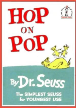 Book cover Hop on Pop (Beginner Books)