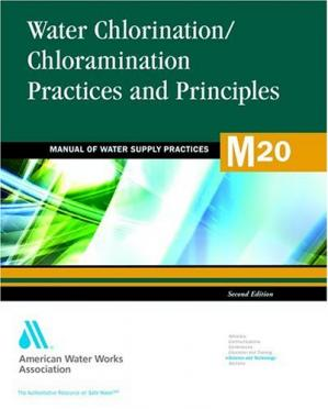 A capa do livro Water Chlorination and Chloramination Practices and Principles