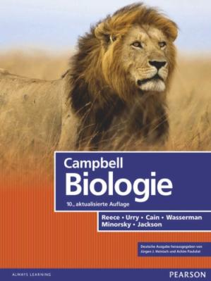 Book cover Campbell Biologie