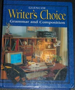 Book cover Glencoe Writer's Choice: Grammar and Composition (Grade 11)