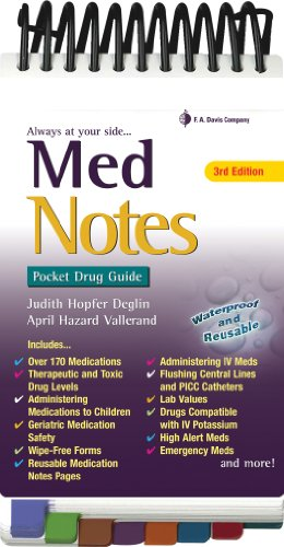 Book cover MedNotes: Pocket Drug Guide, Third Edition