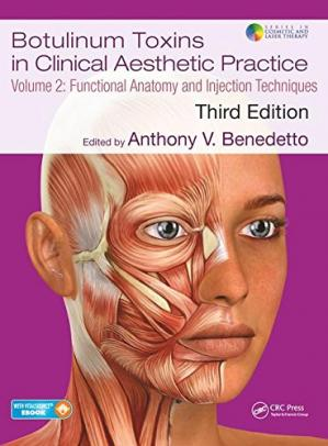 Buchdeckel Botulinum Toxins in Clinical Aesthetic Practice 3E, Volume Two: Functional Anatomy and Injection Techniques