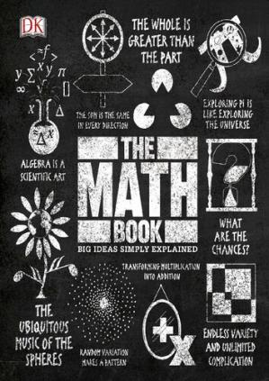 Book cover The Math Book, Big Ideas Simply Explained
