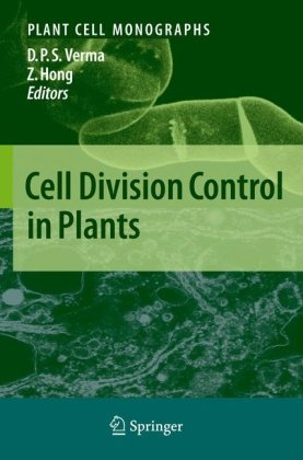 ปกหนังสือ Cell Division Control in Plants