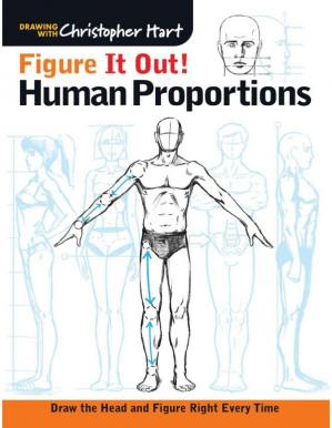 Обкладинка книги Figure It Out! Human Proportions: Draw the Head and Figure Right Every Time