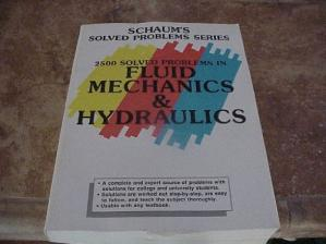 Book cover 2500 Solved Problems in Fluid Mechanics and Hydraulics (Schaum's Solved Problems)