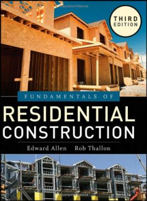 غلاف الكتاب Fundamentals of Residential Construction, Third edition