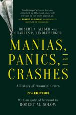 Book cover Manias, Panics, and Crashes: A History of Financial Crises