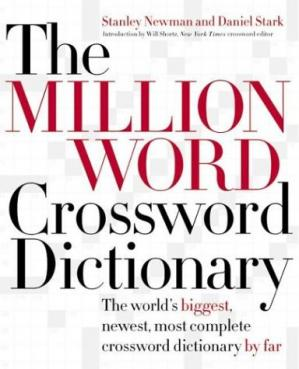 Обкладинка книги The Million Word Crossword Dictionary