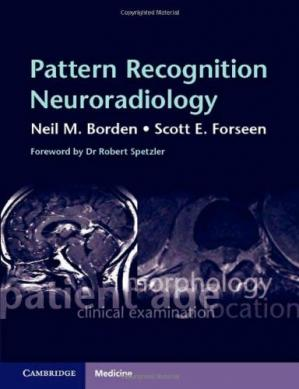 Portada del libro Pattern Recognition Neuroradiology: Brain and Spine