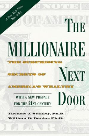 Обложка книги The Millionaire Next Door: The Surprising Secrets of America's Wealthy
