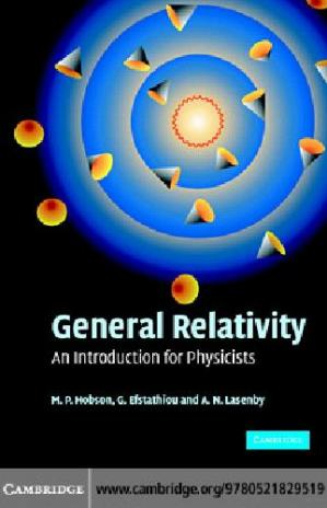 غلاف الكتاب General Relativity.. An Introduction for Physicists