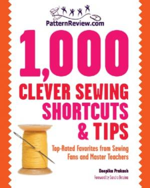 A capa do livro 1,000 Clever Sewing Shortcuts and Tips  Top-Rated Favorites from Sewing Fans and Master Teachers