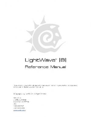 Copertina Essential Lightwave 3D 8 - Newtek Lightwave 3D 8.0 Manual
