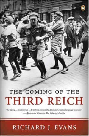 A capa do livro The Coming of the Third Reich