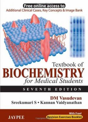 Book cover Textbook of Biochemistry for Medical Students