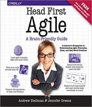 Book cover Head First Agile: A Brain-Friendly Guide to Agile Principles, Ideas, and Real-World Practices