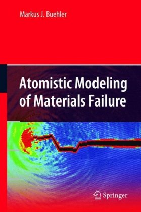 Обкладинка книги Atomistic Modeling of Materials Failure