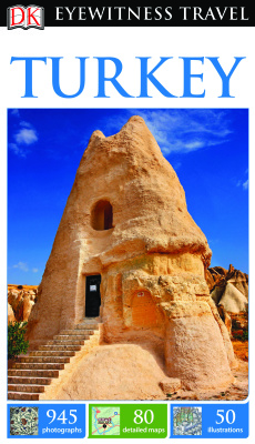 Portada del libro DK Eyewitness Travel: Turkey