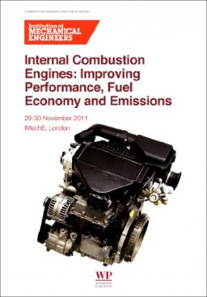 Book cover Internal Combustion Engines: Improving Performance, Fuel Economy and Emission. IMech: E, London, 29–30 November 2011