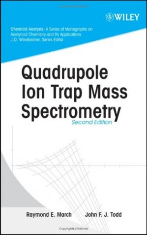 Okładka książki Quadrupole Ion Trap Mass Spectrometry, 2nd Edition