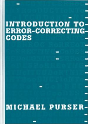 Book cover Introduction to error-correcting codes
