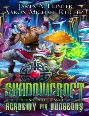 Book cover Shadowcroft Academy For Dungeons: Year Two