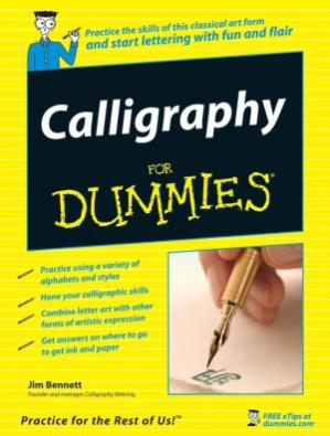 Buchdeckel Calligraphy for Dummies (dummies)