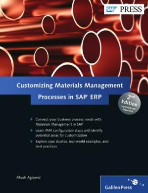 Обложка книги Customizing Materials Management Processes in SAP ERP