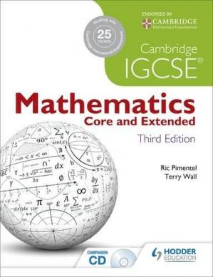 Обложка книги Cambridge IGCSE Mathematics: Core & Extended
