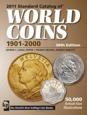 Book cover 2011 Standard Catalog of World Coins 1901-2000