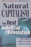 Book cover Natural Capitalism. The Next Industrial Revolution