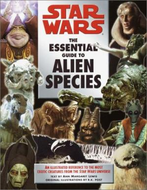 Book cover Star wars: the essential guide to alien species