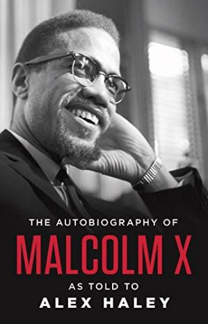 Обложка книги The autobiography of Malcolm X